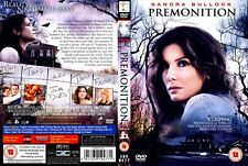 Premonition DVD IN EXCELLENT CONDITION - ONLY WATCHED ONCE. POSTED SIGNED-FOR.