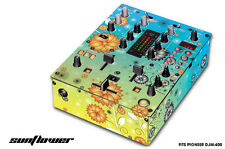 Skin Decal Wrap for PIONEER DJM-400 DJ Mixer CD Pro Audio DJM400 Parts SUNFLOWER