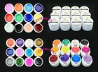 12 PCS Mix Color Pure UV Gel Builder Polish Tips Acrylic Nail Art Set GDCOCO