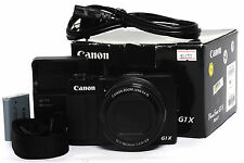 Canon Powershot G1X Mark II 12.8 MP Digital Camera *MINT- in Box*