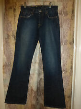 Lucky Brand Blue Denim Button Fly Jeans Size 28X32 Made in USA