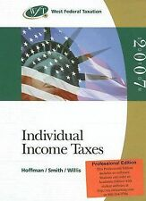 West Federal Taxation 2007: Individual Income Taxes, Volume 1, Professional Edit