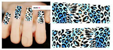 Nail Art Sticker Water Decals Transfer Stickers Leopard Print (DX1487)