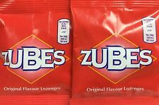 2 Bags Zubes Original 36g Lozenges for Sore Throat Cough and Cold Symptoms Warm