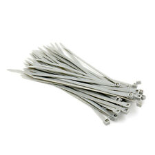 Nylon Kabelbinder - cable ties  200 x 4,5 mm 100 Stück Grau