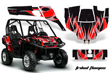 AMR Racing CanAm Commander Graphic Decal Kit UTV Accessories All Years TRIBAL RK