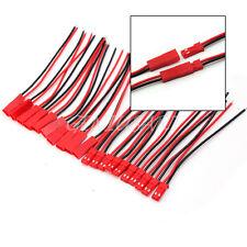 10 Pares 110mm Nuevo JST Conector Enchufe Cable Macho Hembra de Buena Venta
