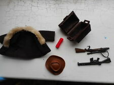 Vintage LITTLE BIG MAN Action FigureSPARES SLR RIFLE MINER COWBOY TREASURE CHEST