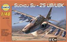 SUKHOI Su-25 UB/UBK (PERUVIAN, MACEDONIAN, IRANIAN, SOVIET MKGS) 1/48 SMER