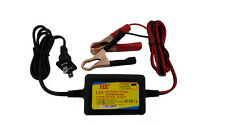 Lead-acid Battery Charger 12V 1A  Motorcycle E-bike Charger Alligator Clips