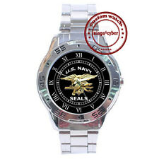 NEW U.S. Navy Seals CUSTOM CHROME MEN WRIST WATCH WATCHES