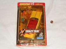 NEW Crazy Taxi Axel Series 2 GamePro Presents Figures & Car Toy set Sega Joyride