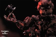 "Five Nights At Freddy's Nightmare Freddy Wall Poster Picture Art Print 22""x34"""