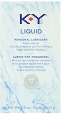 K-Y Personal Lubricant, Natural Feeling Liquid, 2.5oz Each