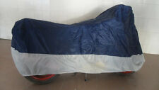 Sport Bike Dual-sport Motorcycle Cover UV Protection Blue Gray XL Size