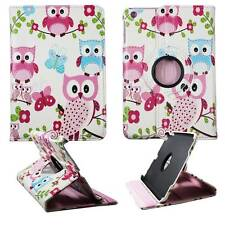 Tablet Blue Butterfly Pink Owl For Apple For Apple Ipad MiniLeather Cover Case