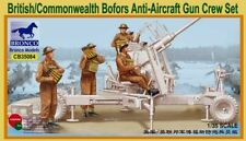 Bronco 1/35 CB35084 British/Commonwealth Bofors Anti-Aircraft Gun Crew Set KIT