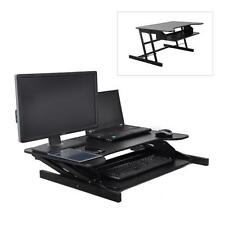 NEW Pyle PDRIS06 Universal Computer Laptop Workstation Stand- Siting/Standing