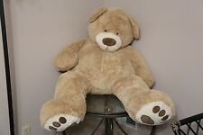 "Chrisha 55"" Giant Jumbo Teddy Bear Plush Toy Doll HUGE"