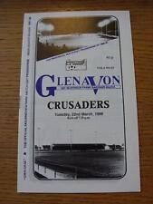 22/03/1988 Glenavon v Crusaders  (No obvious faults)