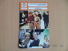 CARTE FICHE CINEMA 1991 SCENES DE MENAGE DANS UN CENTRE COMMERCIAL Bette Midler