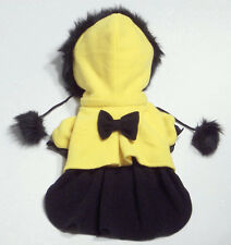 Dog Clothes Girl Yellow Hooded Coat/Jacket Rock'N'Pooches Dog Apparelize Small