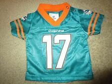 Ryan Tannehill #17 Miami Dolphins NFL Football Jersey Baby 0-3m infant 3m
