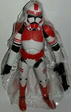 Star Wars SHOCK TROOPER Figure Red Clone The Rise of Vader Black Series