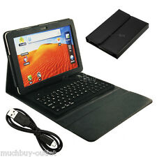 "Bluetooth Keyboard Leather Case for Samsung Galaxy Tab2 10.1"" P5100 P5110 P5113"