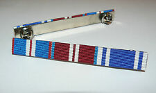 GOLDEN JUBILEE + DIAMOND JUBILEE + POLICE LONG SERVICE MEDAL RIBBON BAR