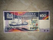 SHIP Series $50 Singapore old note