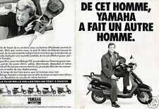Publicité advertising 1990 (2 pages) Les Scooters Yamaha