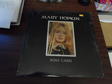 Beatles Mary Hopkin Post Card Rare Capitol Sealed LP