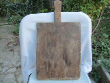 OLD ANTIQUE PRIMITIVE WOODEN WOOD BREAD CUTTING BOARD