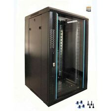 12u Server Rack/cabinet 600 (W) x 800 (D) x 634 (H) Glass Front Door