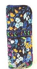 Vera Bradley Straighten Up and Curl Curling Iron Holder in Midnight Blues NWT