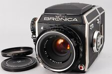 【B V.Good】 ZENZA BRONICA EC w/NIKKOR-P 75mm f/2.8 Lens Medium format JAPAN #1736
