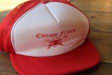 Vintage Chicago Friar Old Bicycle Adjustable Hat