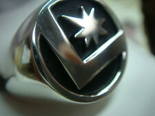 DC LEGION OF SUPERHEROES 925 STERLING SILVER FLIGHT RING! FREE SHIPPING
