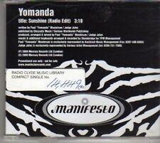 (BF101) Yomanda, Sunshine - 2000 DJ CD