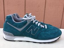 NEW RARE Vintage 90s New Balance 576 Green Turquoise Suede Size US 11.5 D OG