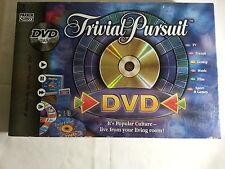 Trivial Pursuit Dvd Tv Game por Parker Con Instrucciones En Muy Buen Estado