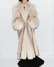 Gorgeous Dion Furs Chicago Mink & Fox Fur Long Coat Size 20