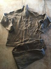 Military Cold Weather Polypropylene Drawers & Undershirt Polypro Brown XL #056