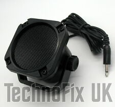 Compact weatherproof extension speaker 3.5mm jack plug with bracket loudspeaker