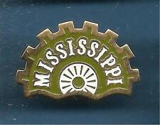 Pin's pin USA PAYS D'AMERIQUE MISSISSIPPI ROUE A AUBE (ref 013)