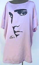 Vintage Womens Purple Elvis Presley (Direct From Graceland) Baggy Dress