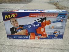 NEW NERF HYPER FIRE DART GUN BLASTER fires up to 5 darts per second 90 feet toys
