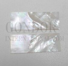 2pcs White Mother of Pearl premium quality inlay blank 30 x 70 x 1.5mm