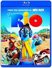 Rio (Blu-ray, 2012) Region Free  Brand new and sealed